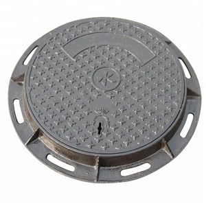 Customized size sanitary sewer cast iron manhole cover cast iron manufacturer