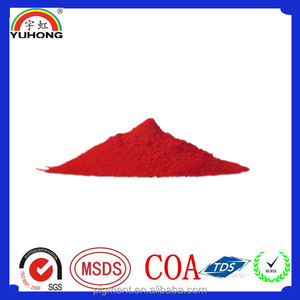 yellowish Organic red pigment 112 for plastics