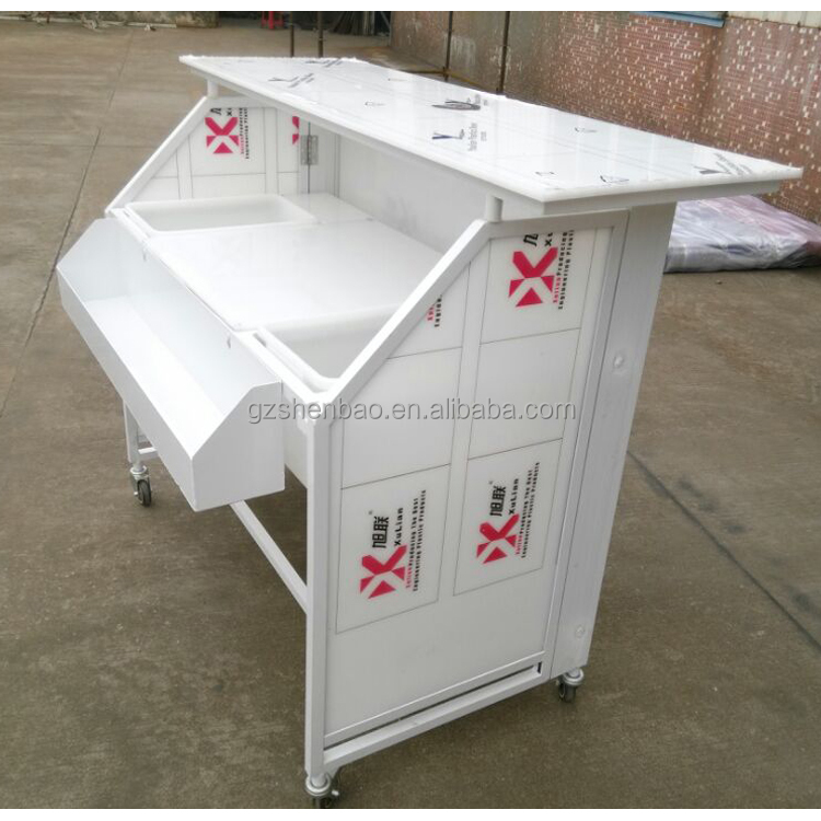Portable folding bar, folding protable bar counter, home bar table .