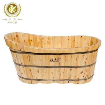 China Wooden Bathtub Cheap Wood Soaking Tub Cedar Bathtub