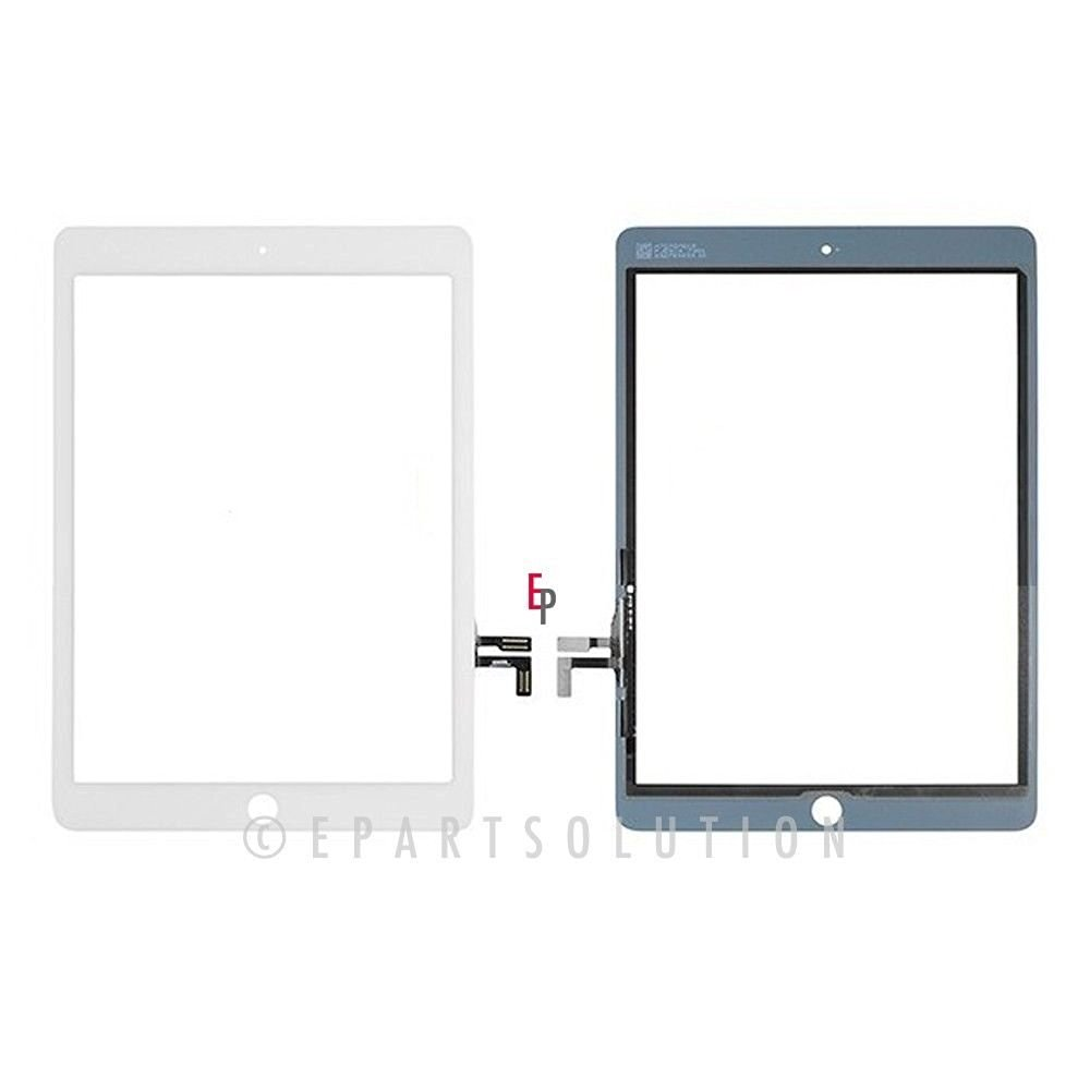 ePartSolution-iPad Air iPad 5 5Gen Touch Screen Digitizer Panel Glass Repair Part White USA Seller