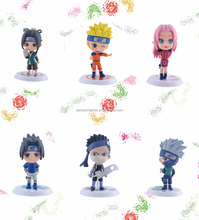 <span class=keywords><strong>Naruto</strong></span> Action Figure, Auto decoratie pop figuur, PVC figuur voor auto-interieur dashboard decoratie