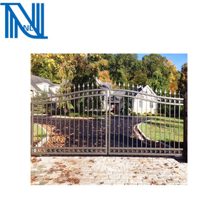 Wrought Iron Gates/Different Steel Gate Designs/ Entrance Iron Door With Design