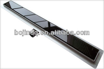 Flat Stainless Steel Shower Channel 600 1000mm Complete, Shower Drain  Channel, Flat Shower