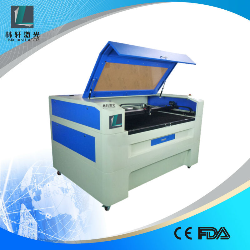 co2 cutter and engraver 600*400mm 1300*900mm silk fabric laser cutting machine