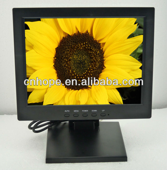 "10.4"" resistive LCD touch monitors 10"" transparent touch screen monitor"