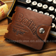 Hot sale low price wallet genuine leather vintage wallet with zip coin pocket