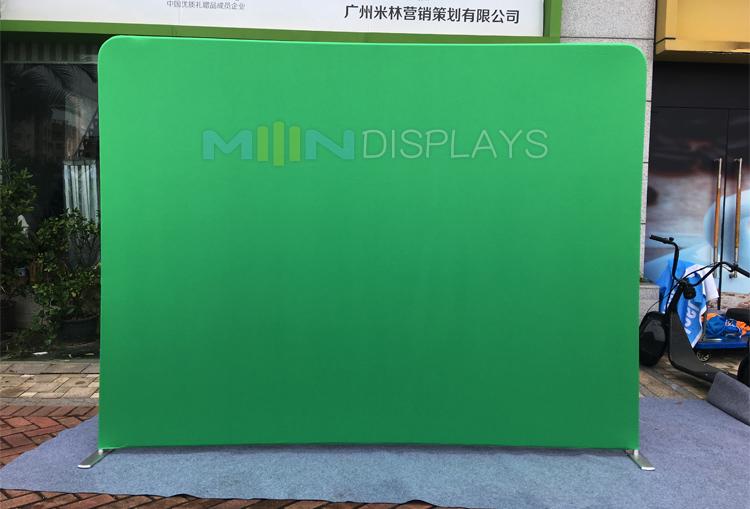 Portable Exhibition Backdrop : Portable standing backdrop green screen photo booth d
