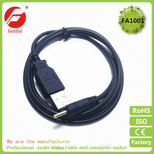 USB to 3.5*1.35mm/5.5*2.5mm/5.5*2.1mm/2.5*0.7mm barrel jack 5v usb to dc cable