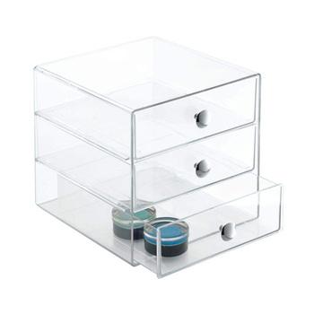 Mac Makeup Cosmetic Organizer Storage Cube Box Acrylic Organizer Clear  Cosmetic Drawers , Buy Acrylic Clear Cube Makeup Organizer Drawer  Display,Clear