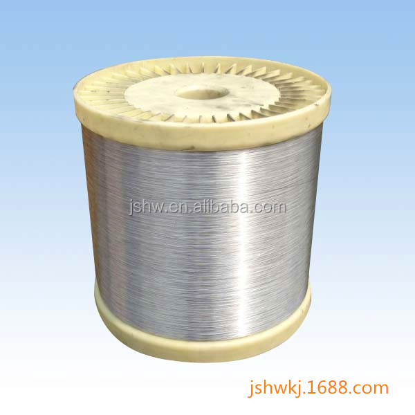 weaving process Coaxial cable fine aluminum wire mesh high tensile strength alloy wire