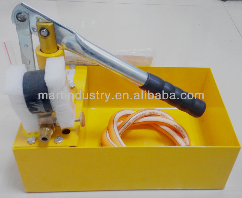 China HAOBAO SY-60XX Hydraulic Manual Water Pressure Testing Pump Equipment