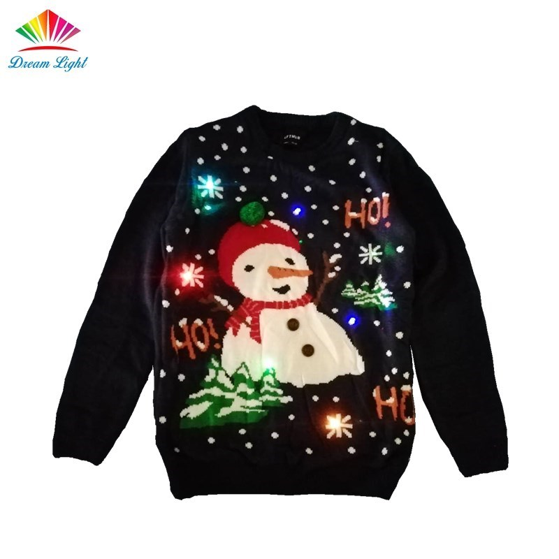 Pullover Light Up Led Christmas Sweater For Party Buy Led Christmas Jumper Light Up Christmas Jumper Light Up Christmas Sweater Product On