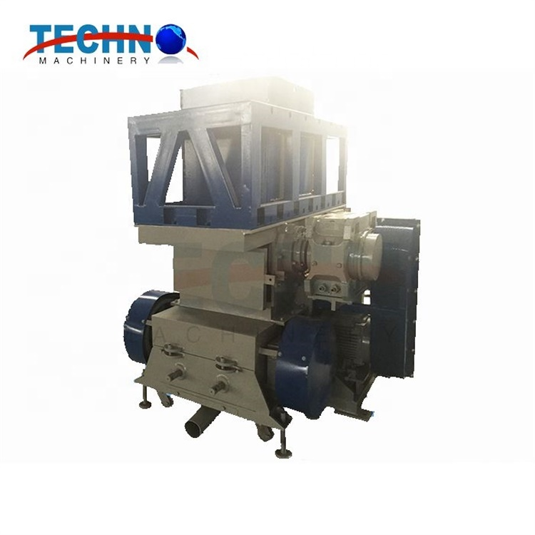 Professional Manufacturer High Automation Double Shafts Recycled Plastics Industry Waste Shredder