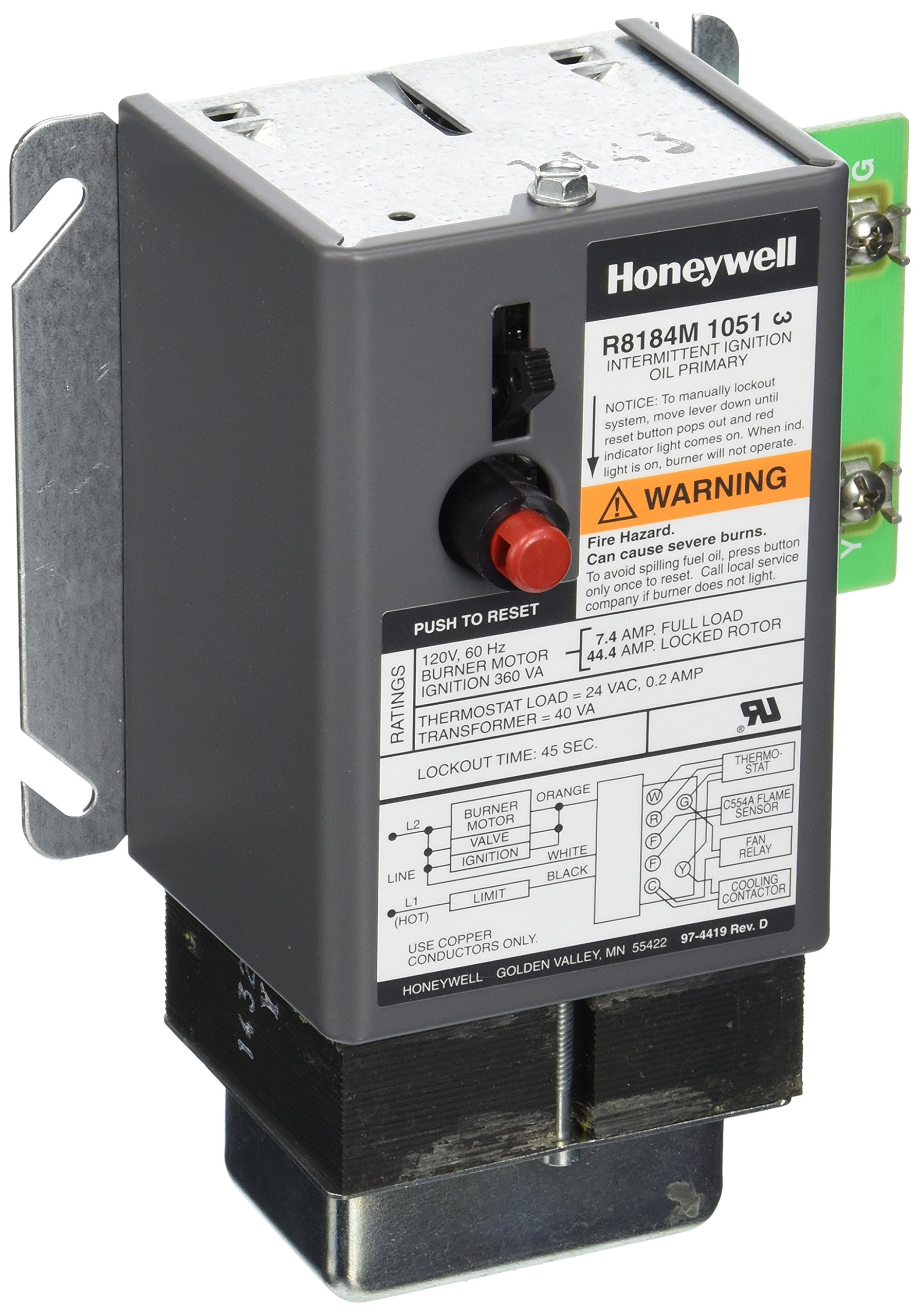 cheap honeywell oil burner find honeywell oil burner deals on line rh guide alibaba com Honeywell Zone Valve Wiring Diagram Honeywell Stack Control
