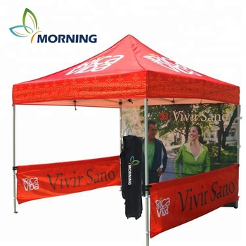 Customized 10x10 Booth pop up tent