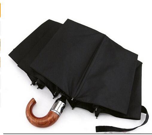 2016 три сильные бренды, как номер 10 автоматический складной зонтик ребра Ветер мужчины бизнес зонтик