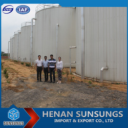 Industrial-scale complete set of equipment cow dung biogas plant