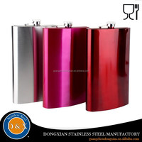 stainless steel wine 20oz hip flask