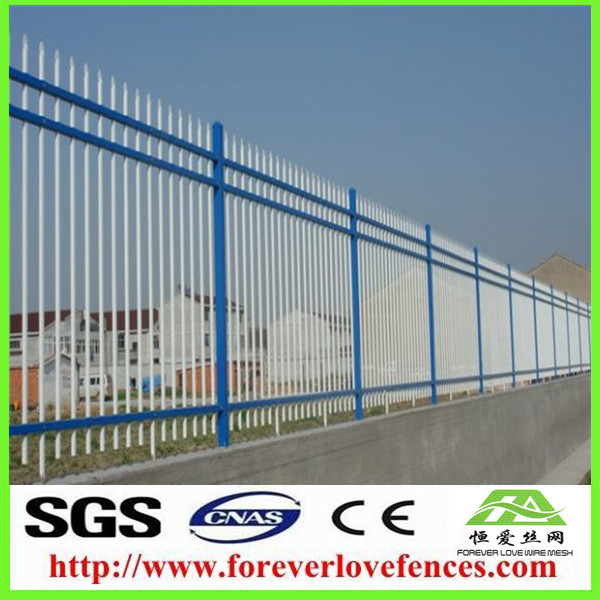 China supplier aluminum fence pricing/plastic bamboo fence/aluminum slat fence