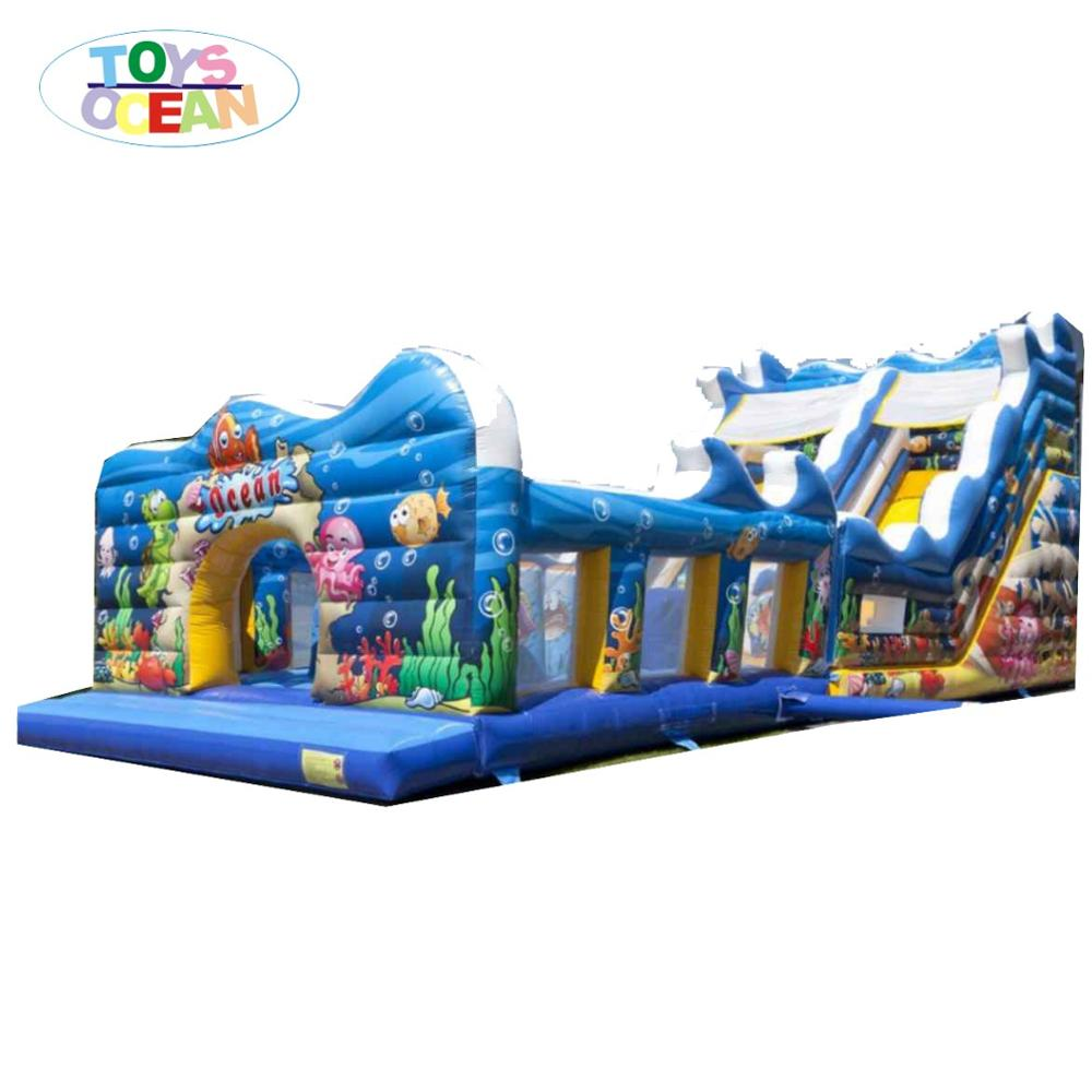 ocean water slide for kids inflatable water playground park slide