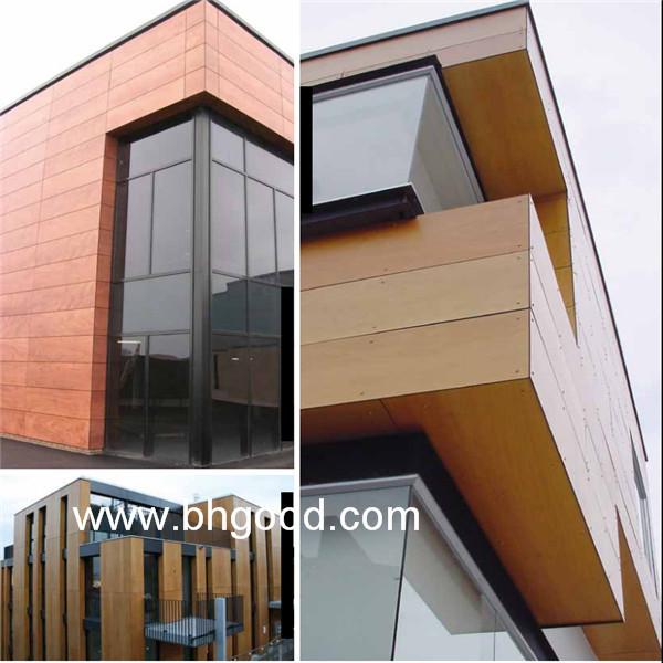 Wood Fundermax Hpl Exterior Wall Cladding Wall Panel Buy Decorative Exterior Wall Panels