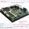 intel atom processor Socket 989 Laptop Mainboard pc with 6usb ports 2*rj45 industrial motherboard