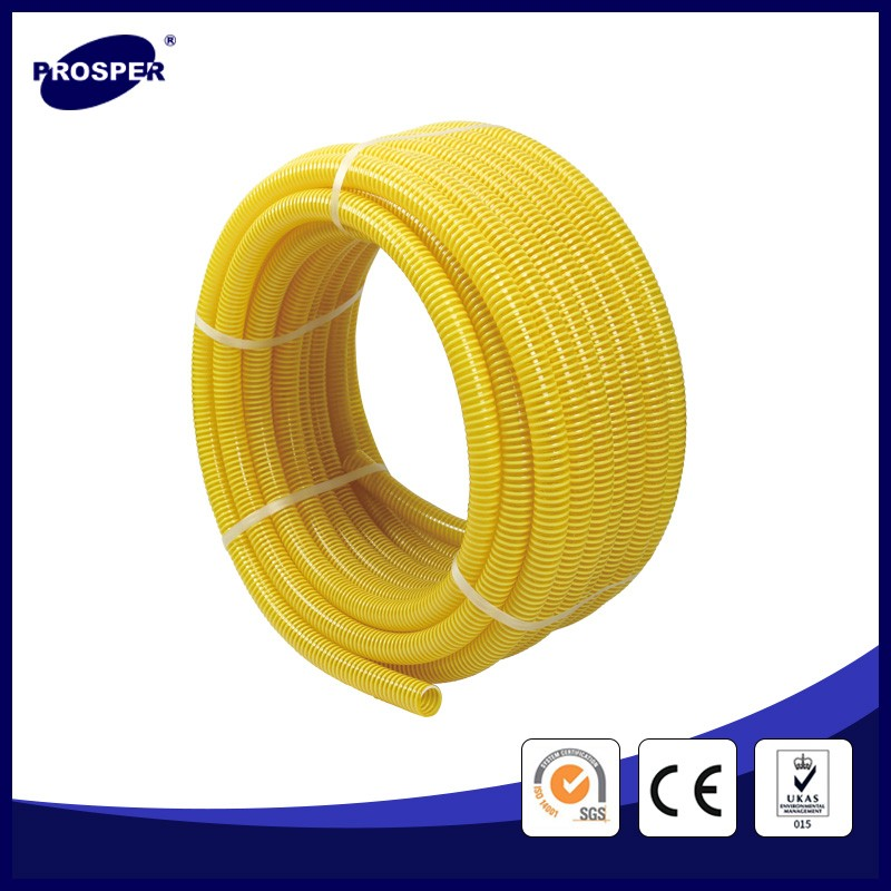 environmental pvc suction hose corrugated hose 6 inches