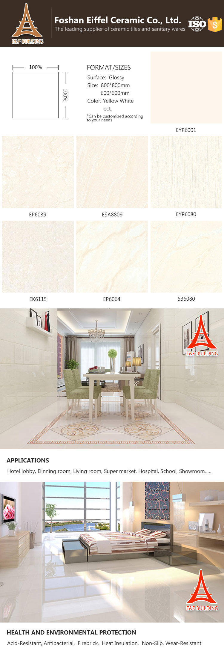 Foshan Tiles Factory Middle East Low Cost Natural Slate Ceramic ...