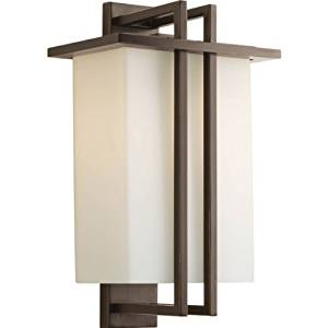 Progress Lighting P5991-20 1 Light Wall Lantern, 16.5-Inch H by 9.75-Inch W by 6.5-Inch D by HI- Progress Lighting