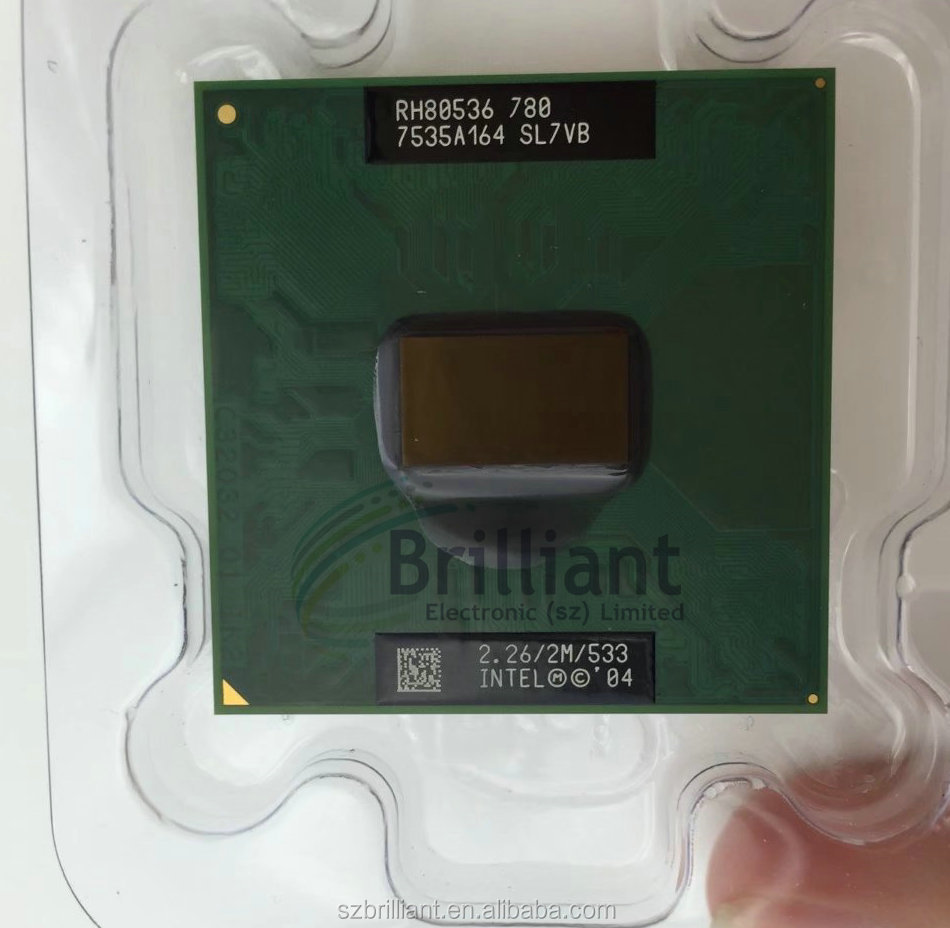 for intel CPU PM780 CPU notebook Pentium M Processor 780 2M Cache, 2.26 GHz, 533