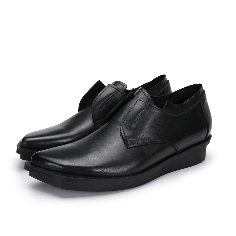 working outsole genuine Black safety rubber soft upper color comfortable leather shoes shoes women flat ZXqSqnwPgx