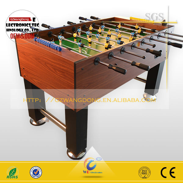 Good The Most Popular Indoor Mdf Soccer Table,Kick Football Table Silver Freedom    Buy Foosball Table,Casino Multi Game,Coin Operated Foosball Table Product  On ...