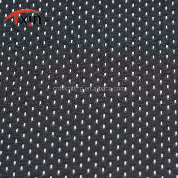 uv resistant fabric digital printing mesh polyester fabric for vest wear and yoga uniform