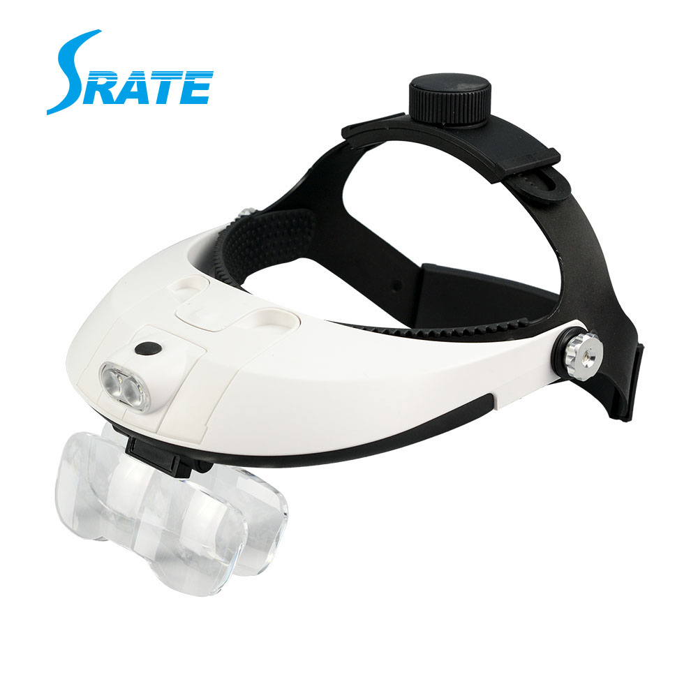 MG81001-H New Style Medical Head Loupe Magnifier with LED Lights