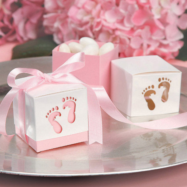 Custome Design Baby Shower Gift Box Set Chocolate Window Candy, Baby Shower