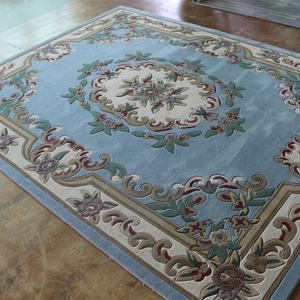 French aubusson style wool carpet for hall,hand tufted wool carpet aubusson carpet