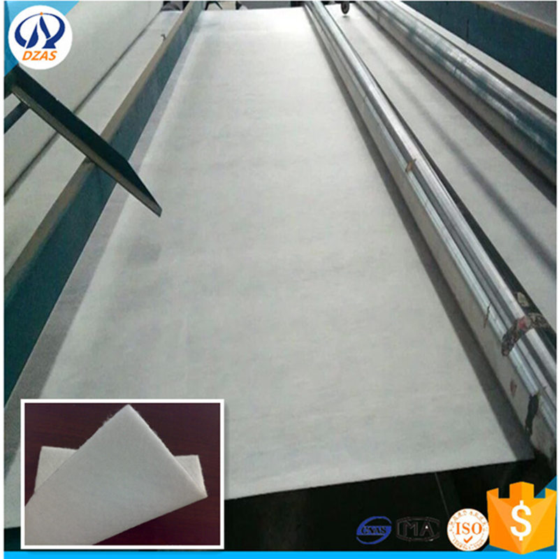 Railway constructions used non woven geo textile/geotextile used in road construction WH-DZAS-SNG100 geotextile