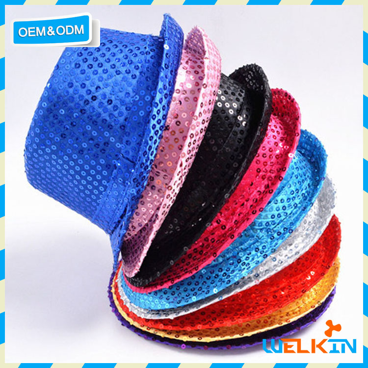 Cheap china factory price party hat glittering