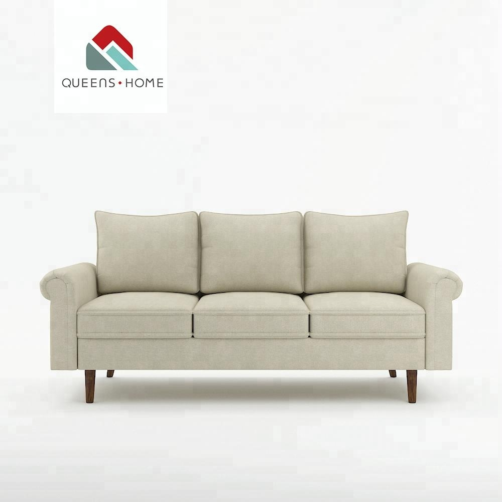 Queenshome modern style simple african style bride sofa set 3 seat recliner sofa covers furnitures house living room sofa
