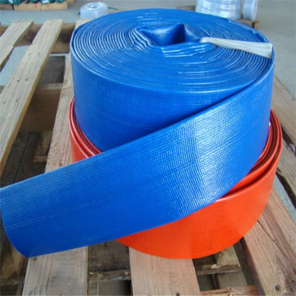 Colorful Agriculture Irrigation PVC Layflat Hose 10bar
