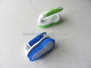 Bathroom Floor Cleaning Scrub Brush With Short Handle #8209