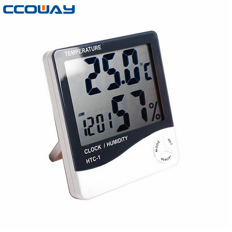 Wholesale digital indoor barometer thermometer and hygrometer with LCD big display