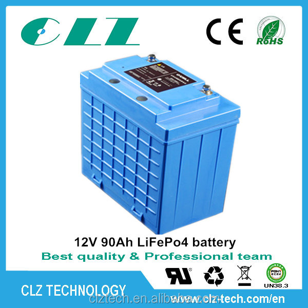 12V 200AH LiFePo4 battery for Wind turbine/Panel solar system /hybrid solar / wind energy