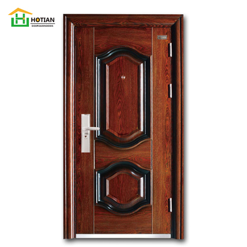 Chinese Turkish Security Steel Doors Lowes Fire Doors For ...