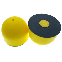 3Inch Center Water Feed Disc Polishing Pad Sanding Tool Hand Sanding Block for Hook and Loop discs sanding