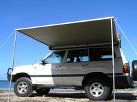 Easy open waterproof folding roof top tent for SUV car