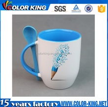 Top Grade white blank orca coatings ceramic mug cup for sublimation wholesale