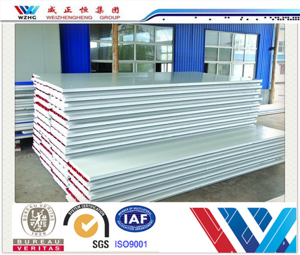 Cheap Roofing Materials For Nepal Cleanroom Wall Panels Eps Sandwich Panel, Garage Wall Panel