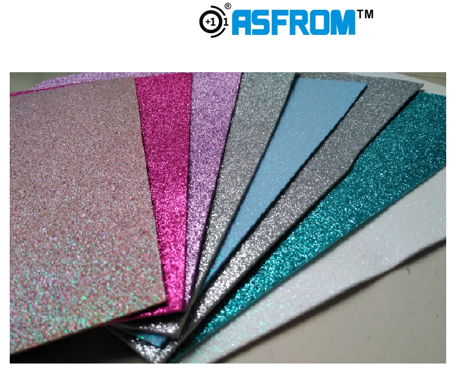Ethylene Vinyl Acetate Sheet Eva Glitter Foam Sheet